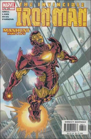 IRON MAN #65 VF/NM (1998)