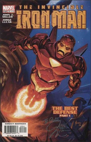 IRON MAN #73 (1998)