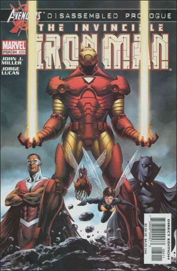 IRON MAN #84 VF/NM (1998) AVENGERS DISASSEMBLED PROLOGUE