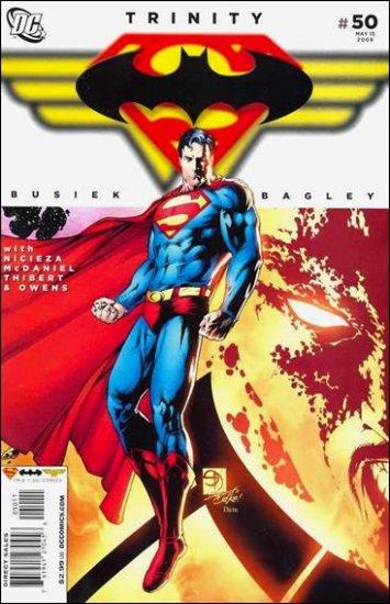 TRINITY #50 NM (2009) SUPERMAN, BATMAN, WONDER WOMAN