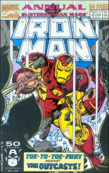 IRON MAN ANNUAL #12 VF+ (1968)
