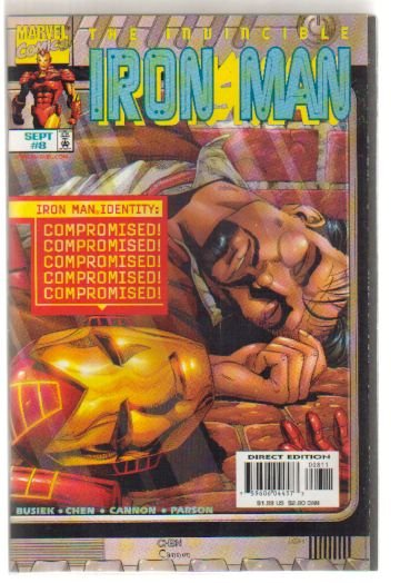 IRON MAN #8 VF/NM (1996)