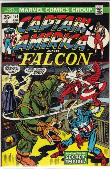CAPTAIN AMERICA #174 F/VF (1968 VOL) *CAPTAIN AMERICA & THE FALCON*