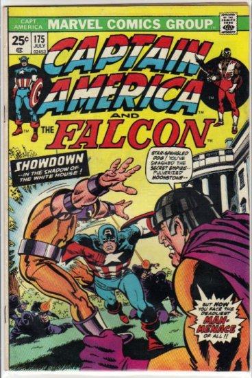CAPTAIN AMERICA #175 VG (1968 VOL) *CAPTAIN AMERICA & THE FALCON*