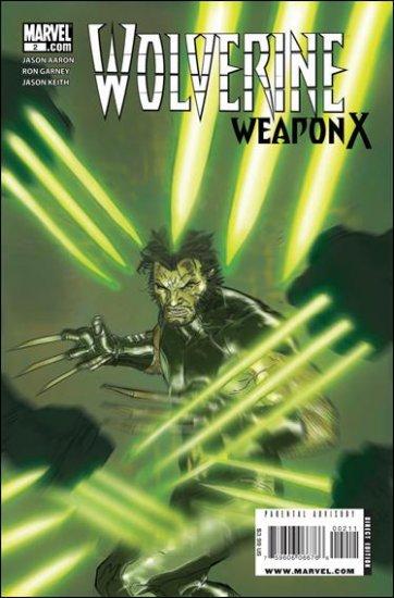 WOLVERINE WEAPON X #2 NM (2009)