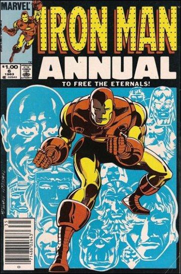IRON MAN  ANNUAL #6 (1983)