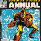 IRON MAN  ANNUAL #6 (1983)