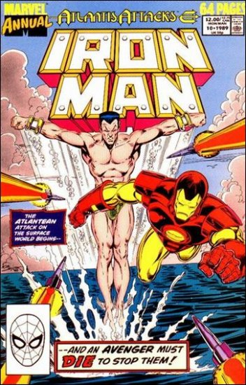 IRON MAN  ANNUAL #10 (1989)