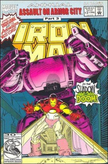 IRON MAN  ANNUAL #13 (1992)