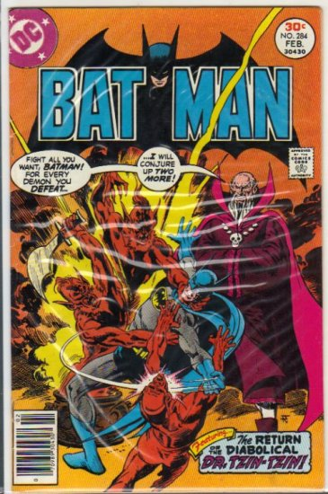 BATMAN #284