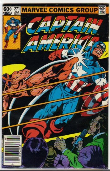 CAPTAIN AMERICA #271 (1968 VOL)