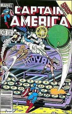 CAPTAIN AMERICA #314 (1968 VOL)