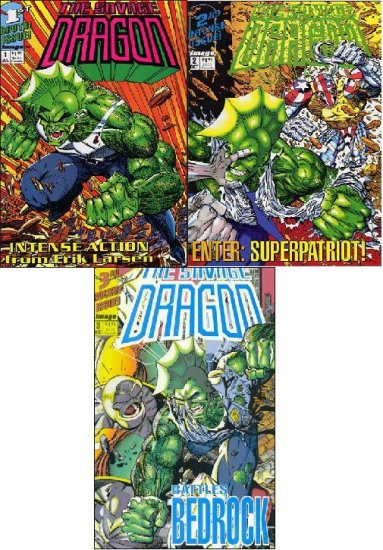 SAVAGE DRAGON VOLUME 1 COMPLETE SET VF/NM (1992)