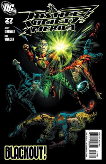 JUSTICE SOCIETY OF AMERICA #27 NM (2009)