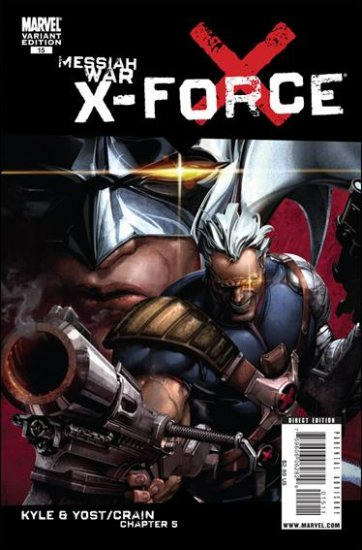 X-FORCE #15 NM (2009) VARIANT COVER