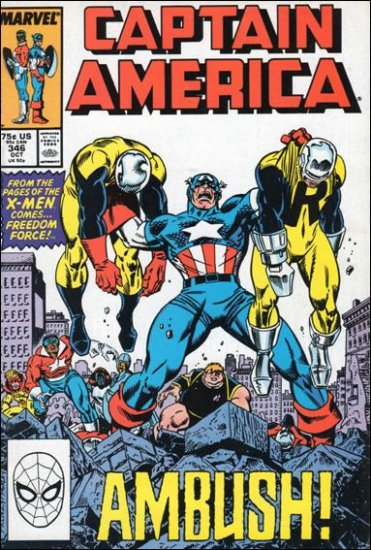 CAPTAIN AMERICA #346 (1968 VOL)