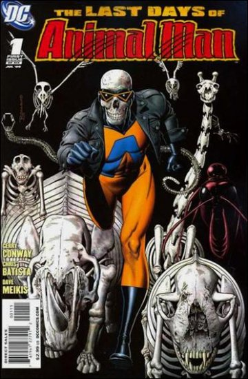THE LAST DAYS OF ANIMAL MAN #1 (OF 6)  NM (2009)