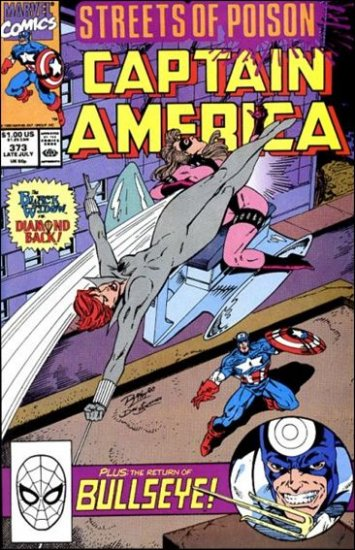 CAPTAIN AMERICA #373 (1968 VOL) *STREETS OF POISON*