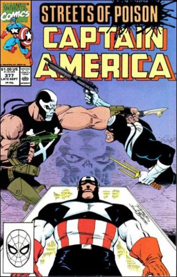 CAPTAIN AMERICA #377 (1968 VOL) *STREETS OF POISON*