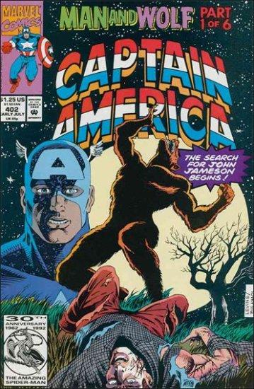 CAPTAIN AMERICA #402 (1968 VOL)