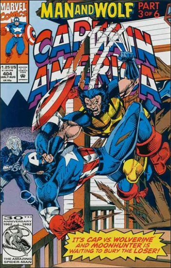 CAPTAIN AMERICA #404 (1968 VOL) WOLVERINE