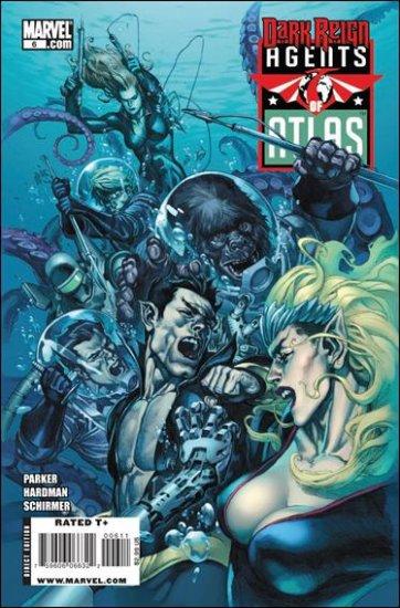 AGENTS OF ATLAS #6 NM (2009)