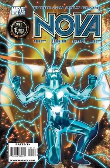 NOVA #25 NM (2009) *WAR OF KINGS*