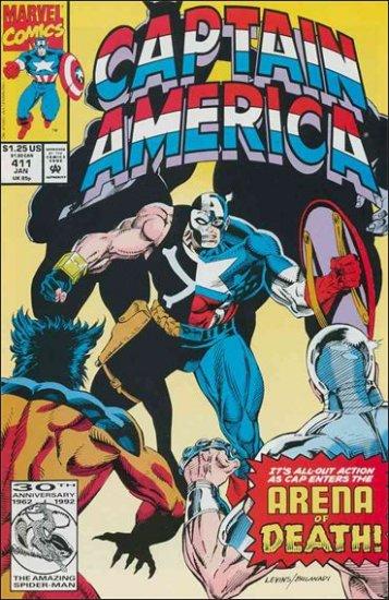 CAPTAIN AMERICA #411 (1968 VOL)