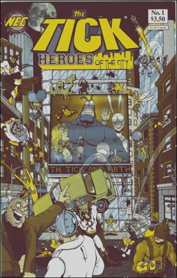 TICK HEROES OF THE CITY #1