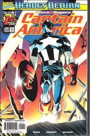 CAPTAIN AMERICA #1 (VOL 3) HEROES RETURN