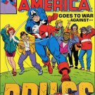 CAPTAIN AMERICA GOES TO WAR AGAINST DRUGS