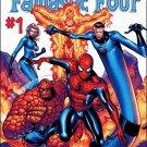 SPIDER-MAN FANTASTIC FOUR SET #1-4 NM (2007)