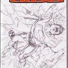 INFINITE CRISIS #5C NM (2008) SKETCH VARIANT