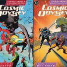 COSMIC ODYSSEY COMPLETE SET #1-4 VF/NM