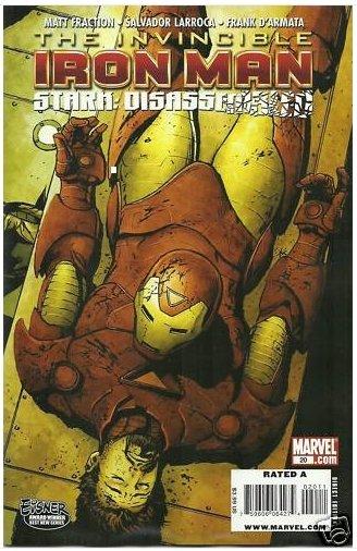 INVINCIBLE IRON MAN #20 NM (2010) COVER B