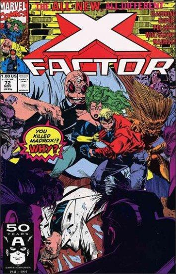 X-FACTOR #72(1985) VF/NM