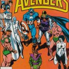 AVENGERS #266 VF/NM 1ST SERIES SECRET WARS II CROSS OVER