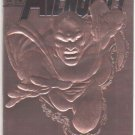 AVENGERS #360 VF/NM 1ST SERIES  COPPER FOIL EMBOSSED COVER VISION