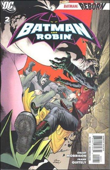 BATMAN AND ROBIN #2 VF/NM 1:25 VARIANT