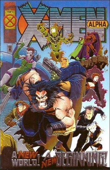X-MEN ALPHA #1 VF/NM (1995)