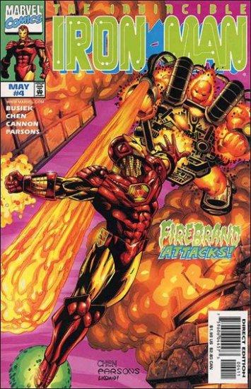 IRON MAN #4 VF/NM (1998)