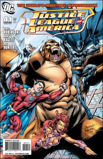 JUSTICE LEAGUE OF AMERICA #41 NM (2010) B COVER