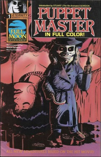 PUPPET MASTER #1  ETERNITY COMICS  MATURE READERS ONLY
