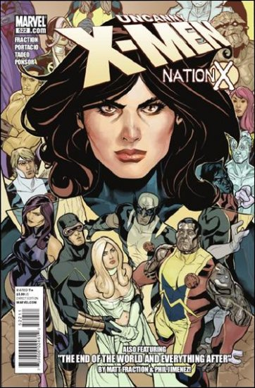 UNCANNY X-MEN #522 NM (2010) NATION X