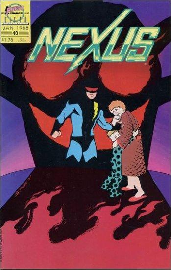 NEXUS #40 VF/NM FIRST COMICS SERIES