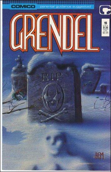 GRENDEL #15 COMICO SERIES