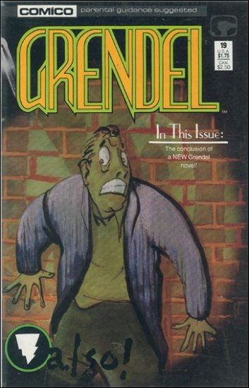 GRENDEL #19 COMICO SERIES