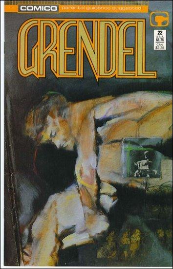 GRENDEL #22 COMICO SERIES