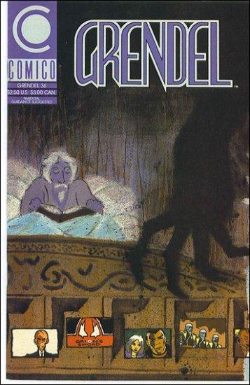 GRENDEL #36 COMICO SERIES