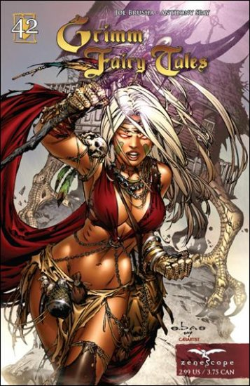 """GRIMM FAIRY TALES #42 NM  """"COVER A"""" *ZENOSCOPE*"""